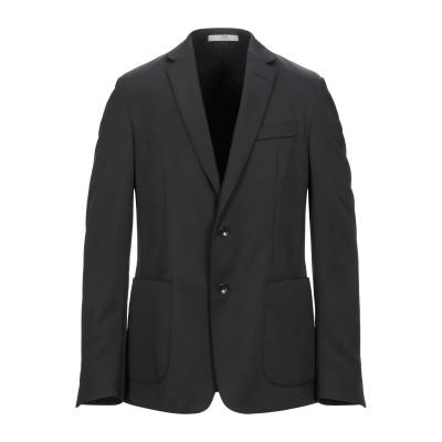 CC COLLECTION CORNELIANI テーラードジャケット ブラック 50 ナイロン 57% / ウール 43% テーラードジャケット