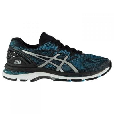 アシックス Asics メンズ ランニング・ウォーキング シューズ・靴 Gel Nimbus 20 Running Shoes Blue/Wht/Blk