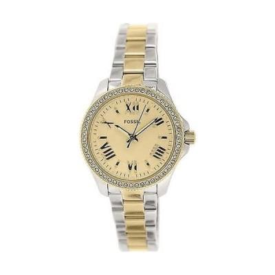 腕時計 フォッシル Fossil レディース Cecile AM4579 シルバー ステンレス-スチール クォーツ 腕時計
