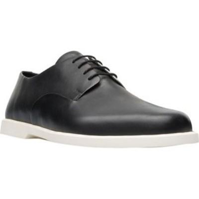 カンペール Camper メンズ 革靴・ビジネスシューズ シューズ・靴 Twins Plain Toe Oxford Black Calfskin
