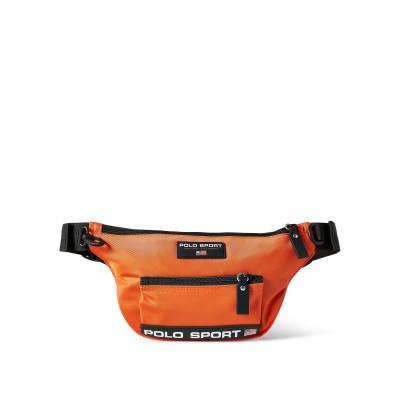POLO RALPH LAUREN バックパック&ヒップバッグ オレンジ ナイロン 100% バックパック&ヒップバッグ