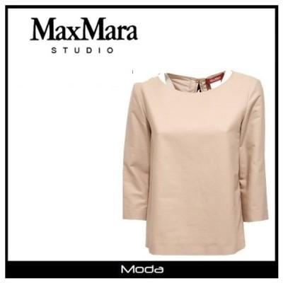 Max Mara マックスマーラ バックリボン Tシャツ レディース