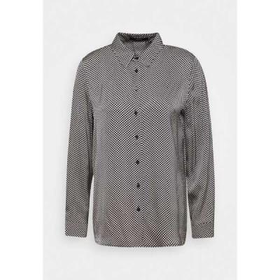 サムデイ  シャツ レディース トップス ZUMERA DOT - Button-down blouse - black