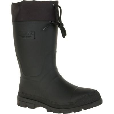 カミック Kamik メンズ ブーツ ワークブーツ シューズ・靴 Icebreaker Insulated Rubber Work Boots Black