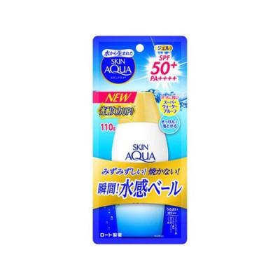 【SPF50+/PA++++】スキンアクア(SKIN AQUA) スーパーモイスチャージェル 顔・からだ用 110g ロート製薬(ROHTO)