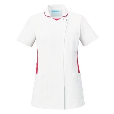 058 KAZEN レディススクラブ ナースウェア・白衣・介護ウェア