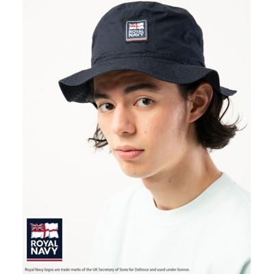 FREAK'S STORE / ROYAL NAVY/ロイヤル ネイビー ロゴ バケットハット MEN 帽子 > ハット