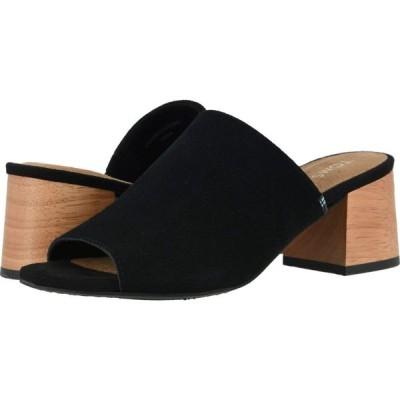 トムス TOMS レディース サンダル・ミュール シューズ・靴 Grace Mule Black