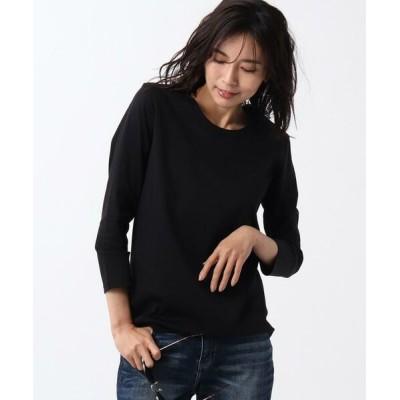 UNTITLED/アンタイトル 【洗える・抗菌防臭】長袖カットソー ブラック(019) 01(S)