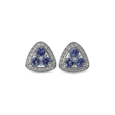 ジュエリー ファインジュエリー イヤリング 宝石 ストーン Olivia Leone Sterling Silver 5/8ct Genuine Tanzanite Diamond Accent Earrings