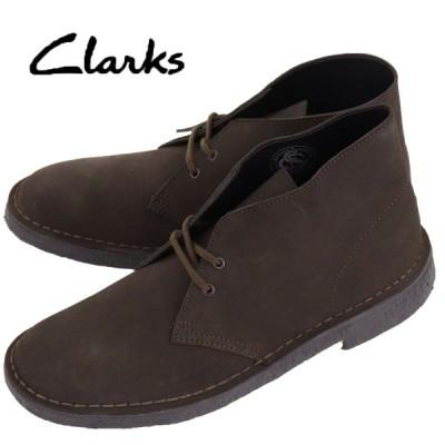 クラークス オリジナルズ CLARKS ORIGINALS メンズ スエード デザートブーツ DESERT BOOT 26138229 BROWN SUEDE