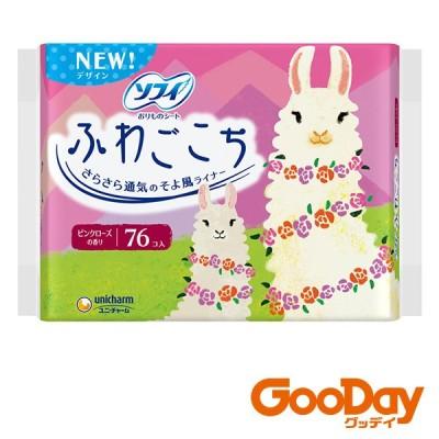 ユニ・チャーム unicharm ソフィふわごこち ソフィ ふわごこち ピンクローズの香り 38枚×2