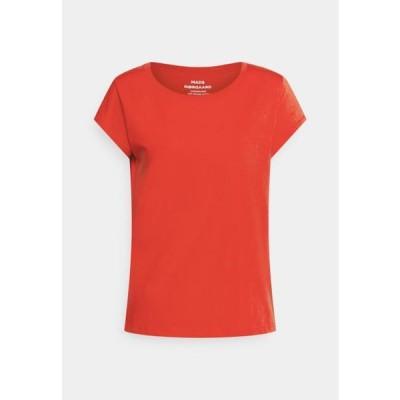 マッズノーガード レディース ファッション FAVORITE TEASY - Basic T-shirt - fiery red