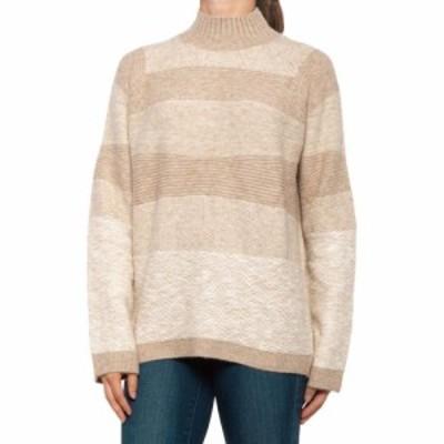 モードヴィヴァンテ Maude Vivante レディース ニット・セーター トップス Selena Mock Neck Sweater Oatmeal