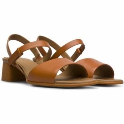 カンペール CAMPER レディース サンダル・ミュール シューズ・靴 Katie Block Heel Sandal Medium Brown