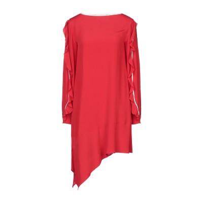 8PM ミニワンピース&ドレス レッド XXS アセテート 69% / シルク 31% / ポリエステル ミニワンピース&ドレス