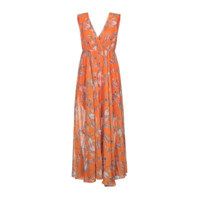 VICOLO 7分丈ワンピース・ドレス オレンジ M ポリエステル 100% 7分丈ワンピース・ドレス