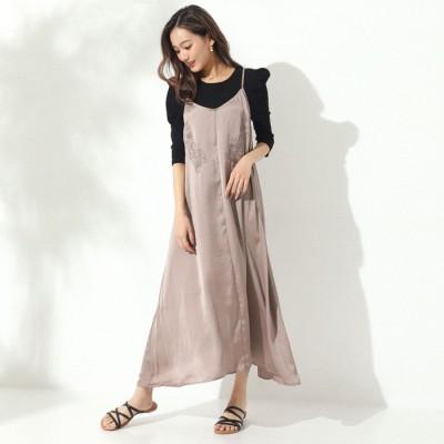ANAP 刺繍キャミワンピース / CHILLE / 527-6015 ピンク  レディース
