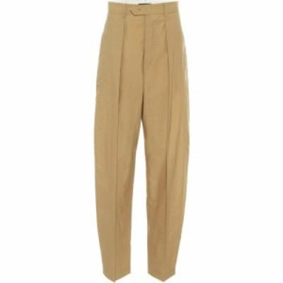 イザベル マラン Isabel Marant レディース ボトムス・パンツ Tacoma cotton-blend carrot pants Bronze