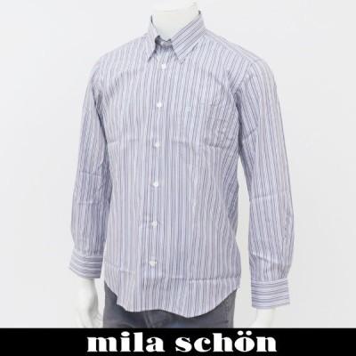 mila schon(ミラショーン) 長袖カジュアルシャツ マルチカラー 31160 120 80