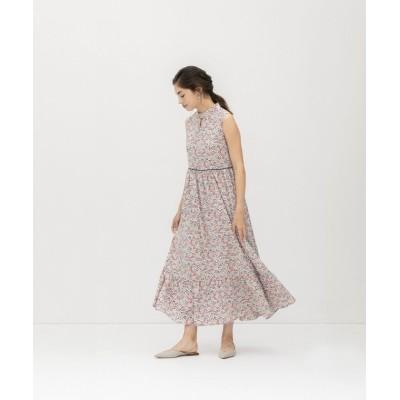【スメラルダ】 ヴィンテージフラワープリントドレス レディース ベージュ系 F smeralda