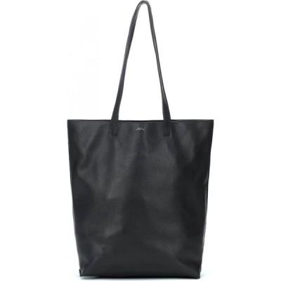 アーペーセー A.P.C. レディース トートバッグ バッグ Maiko Leather Tote Lzz Noir