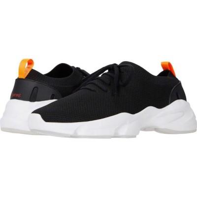スウィムス SWIMS メンズ シューズ・靴 Lace Sock Runner Black