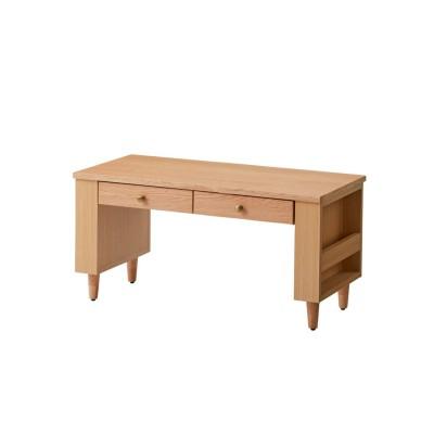高さが調整できる収納たっぷりリビングテーブル