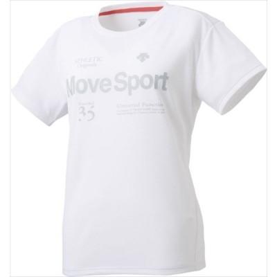 (代引不可)処分セール デサント(DESCENTE) DMWPJA51-WH サンスクリーン Tシャツ レディース DMWPJA51 SALE 特価