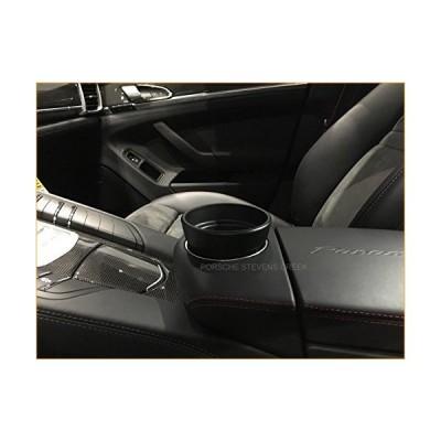 97055338400 OEM Porsche Cup Holder Insert PANAMERA OEM Tequipment Black Cupholder 並行輸入品