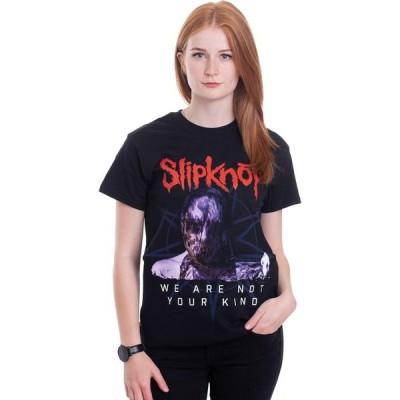 インペリコン Impericon レディース Tシャツ トップス - We Are Not Your Kind Bold Letters - T-Shirt black