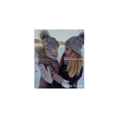 帽子 ニット ニット帽 ニットキャップケーブル編み シンプル 無地 レディース 大人 女性用 男女兼用 キッズ ポンポン 可愛い 秋冬 新作