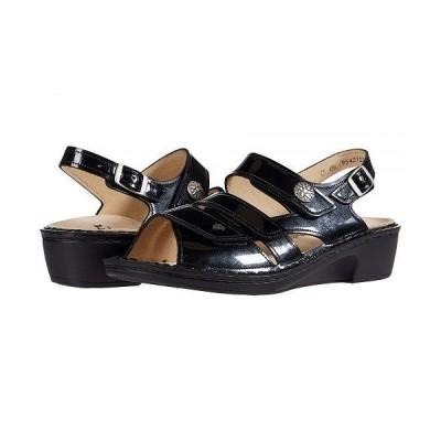 Finn Comfort フィンコンフォート レディース 女性用 シューズ 靴 ヒール Aversa - Navy/Patent