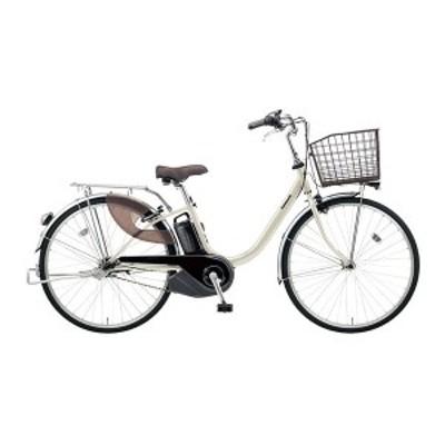 PANASONIC BE-ELL632-S ウォームシルバー ビビ・L [電動アシスト自転車(26インチ・内装3段)]