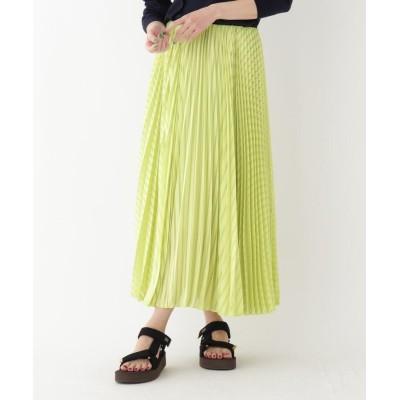 DRESSTERIOR(Ladies)(ドレステリア(レディース)) 【洗える】シアーボーダープリーツスカート