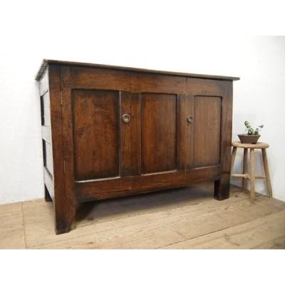 タ荷S295◆H93,5cm×W134,5cm◆イギリスアンティーク◆1780年記載の大きな古い木製カウンターテーブル◆英国家具バーパブT(ヤD)松