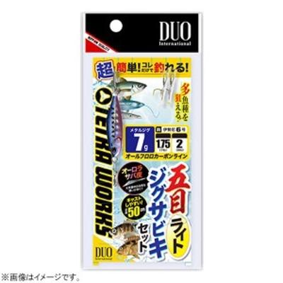 デュオ 五目ライトジグサビキセット 7g (サビキ仕掛け ジグサビキ)