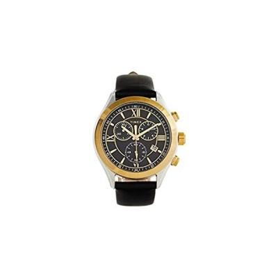 Timex Bi-Metal Dress Chronograph Black One Size