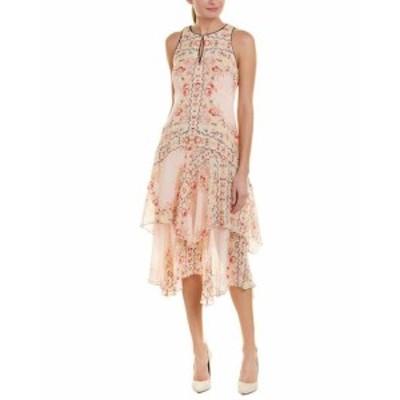 Nanette Lepore ナネットレポー ファッション ドレス Nanette Lepore Silk Midi Dress 0 Pink