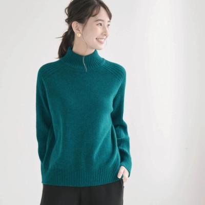 ウール混で華やかな冬のきれい色ニット[日本製](花笑むとき/hana emu toki)