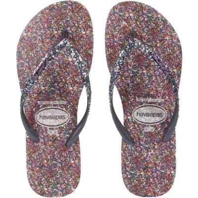 ハワイアナス Havaianas レディース ビーチサンダル シューズ・靴 Slim Carnaval Sandal Purple