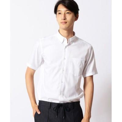 COMME CA MEN/コムサ・メン 形態安定ホワイトドビードレスシャツ その他2 S