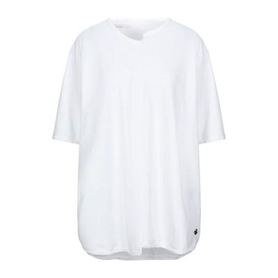 ノストラサンティッシマ NOSTRASANTISSIMA T シャツ ホワイト S コットン 90% / ポリウレタン 10% T シャツ