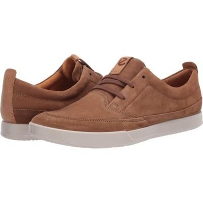 エコー ECCO メンズ スニーカー シューズ・靴 Cathum Leisure Sneaker Camel/Camel/Lion