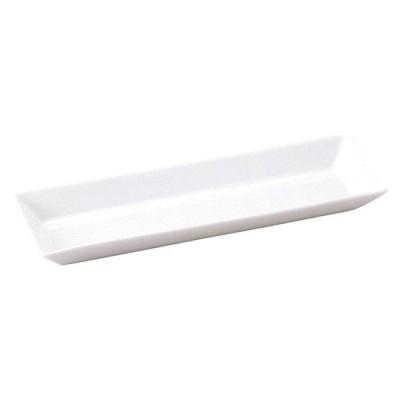 (業務用・長角皿)スクエアー 28.5cm長角トレー (入数:5)
