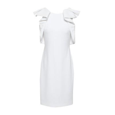BADGLEY MISCHKA ミニワンピース&ドレス ホワイト 2 ポリエステル 93% / ポリウレタン 7% ミニワンピース&ドレス