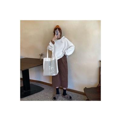 【送料無料】秋 セット 女 年 ネット レッド トレンドカラー フード付きセーター ハ | 346770_A63763-8533689