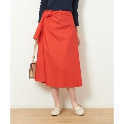 Rouge vif la cle / ルージュ・ヴィフ ラクレ タイプライターリボンスカート