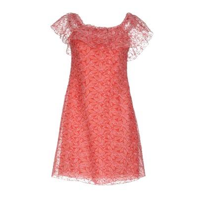 ジャンバ GIAMBA ミニワンピース&ドレス レッド 42 コットン 70% / ポリエステル 30% ミニワンピース&ドレス