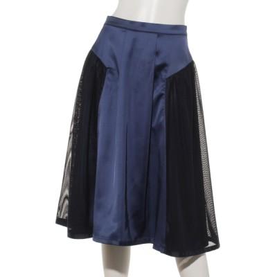 plume blanche[ベビー&キッズ] (プリュムブランシュ) メッシュスカート ネイビー M
